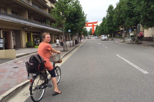Marleen in Japan