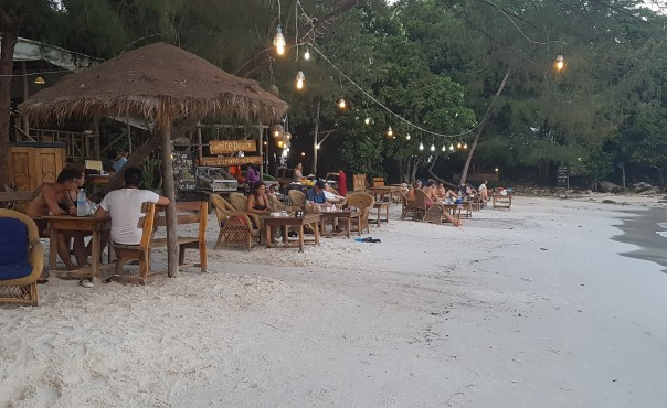 Koh Rong by night