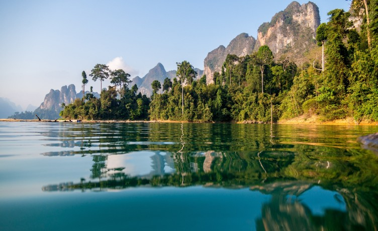 5 x doen in Khao Sok National Park, Thailand